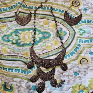 Park Lane necklace and earrings